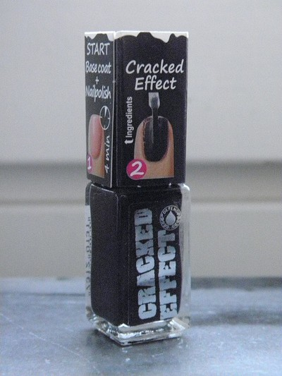 Depend - Crackle Effect Black