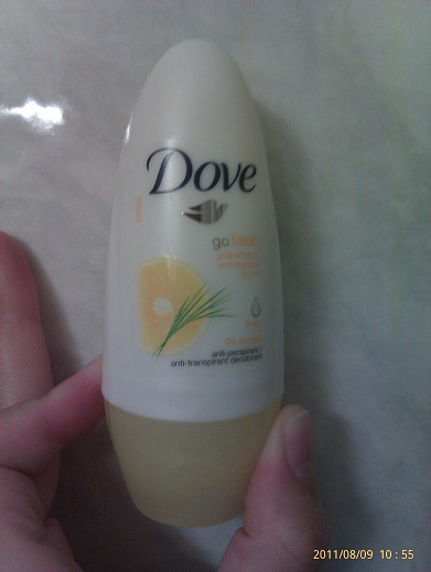 Dove - Go Fresh deodorant