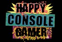 happy console gamer