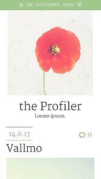 the Profiler phone