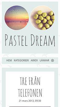 Pastel dream phone