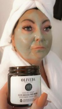 Olive Matcha för en fast och strålande vacker ...